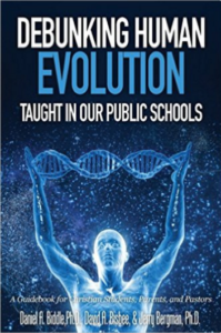 Debunking Human Evolution Book Cover